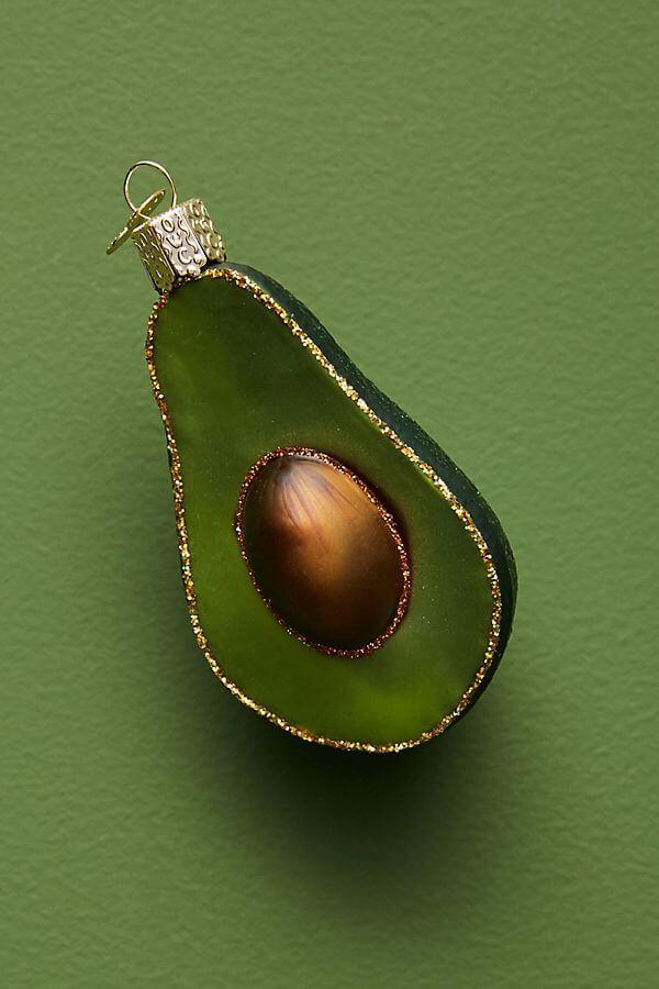 avocado ornament