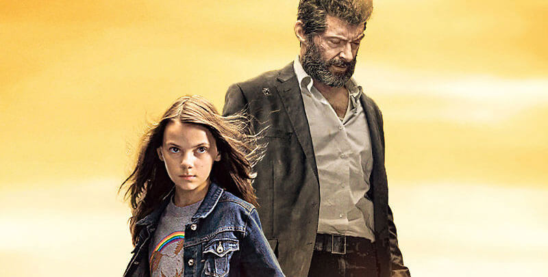 old man Wolverine and young Laura