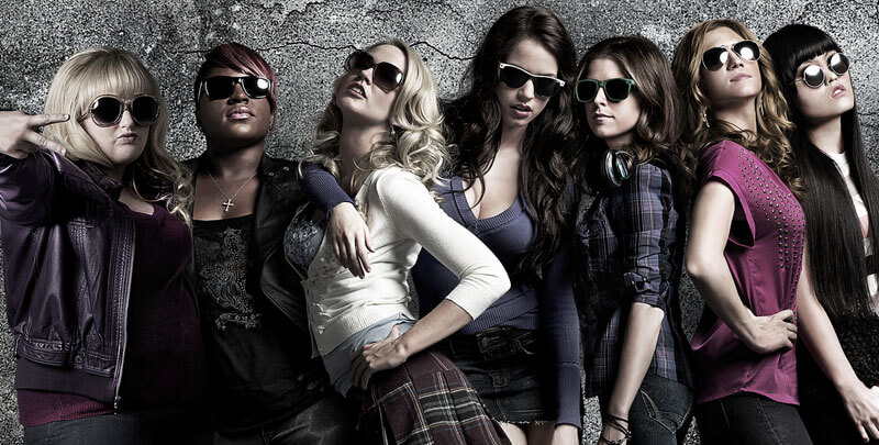 the cast poses in sunglasses
